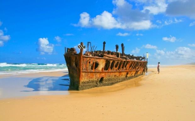 Австралия. Остров Фрейзер