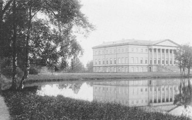 Английский дворец в Сергиевском парке