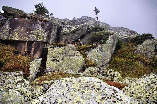 Большая церковная гора – мегалиты или останцы