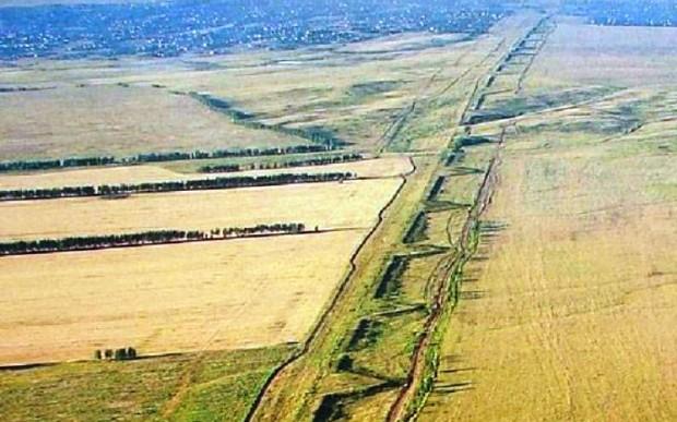 Великая Заволжская стена