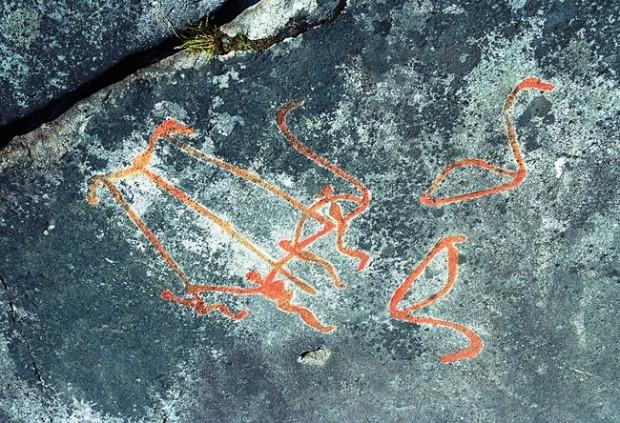 Вопросы истории петроглифы Беломорья