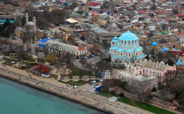 Все районы Евпатории (Крым, Россия)