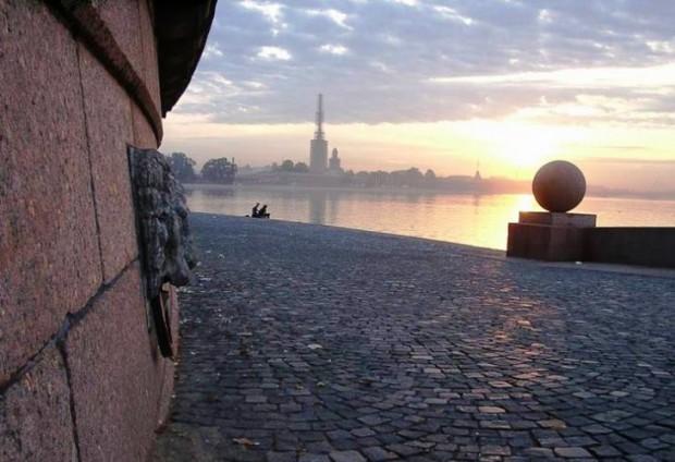 В Санкт-Петербурге период белых ночей
