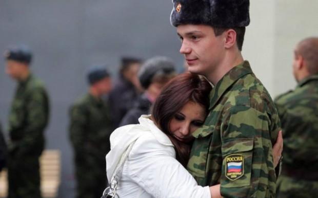 День у солдата начался нормально
