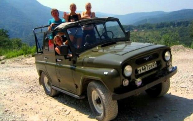 Джипинг по Абхазии