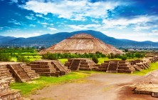 Древний город Теотиуакан