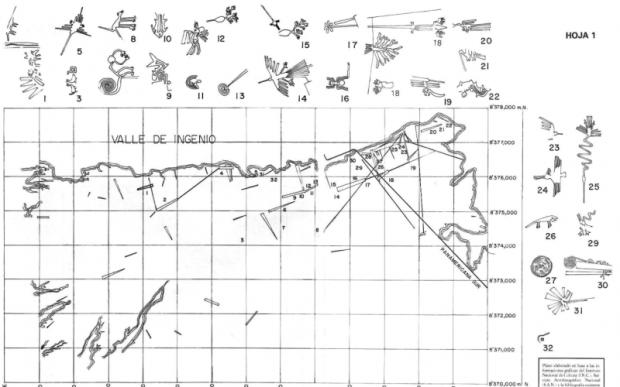 Загадочные геоглифы Пальпа и Наска