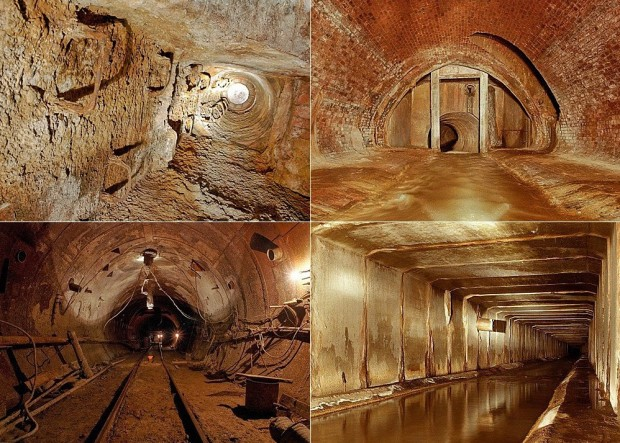 Интересные места Москвы подземный город