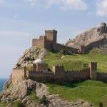 Крым, Судак, интересные места
