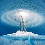 Ледяные пещеры Южного полюса (33 фото)