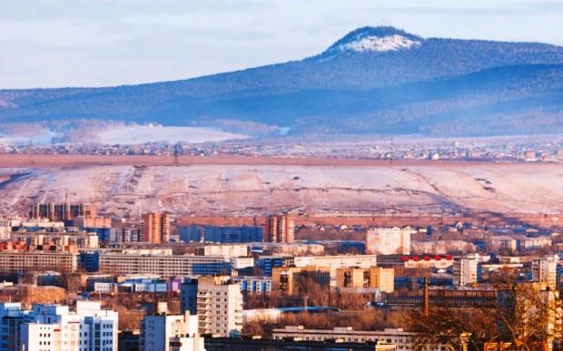 Мегалиты России: Черная сопка, Красноярск