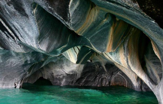 Мраморные озерные пещеры или интересные места Америки