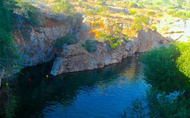 Озеро Вульягмени (Афины, Греция)