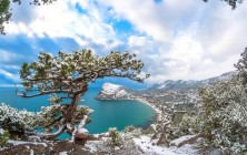 Отдых в Крыму зимой