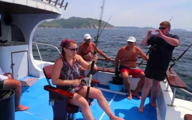 Отдых на море, рыбалка на Пхукете