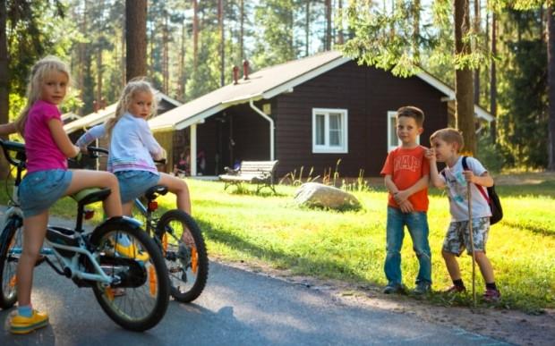 Отдых семьей в поселке Царство-Королевство