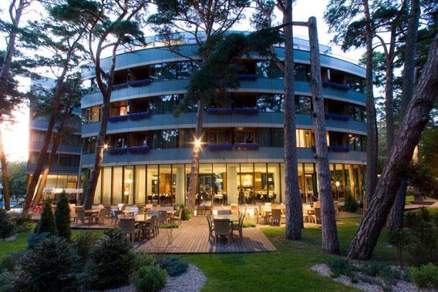 Отель Габия в Паланге