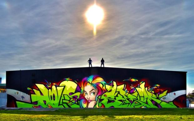 Отправляемся в граффити-тур в Майами