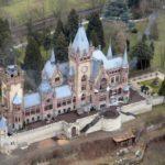 Памятники архитектуры Европы: Замок Драхенбург в Германии