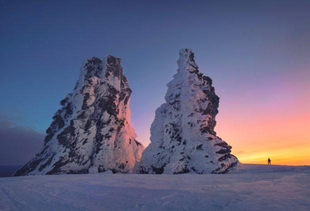 Пеший туризм зимой