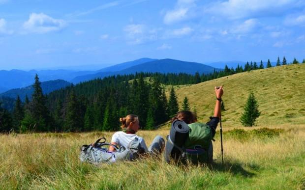 Пеший туризм летом