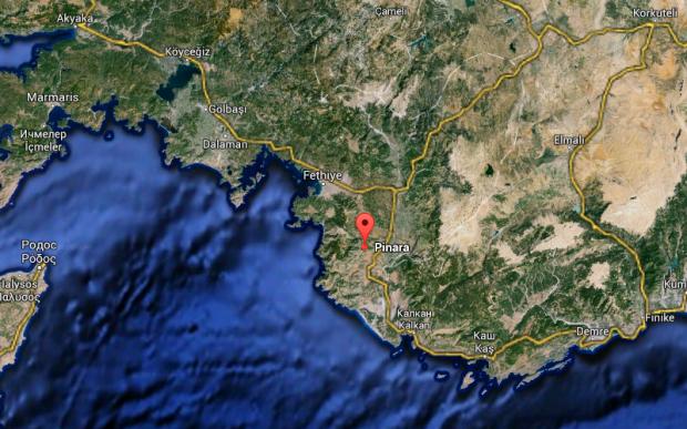 Пинара. Город, о котором «стесняются» говорить турки