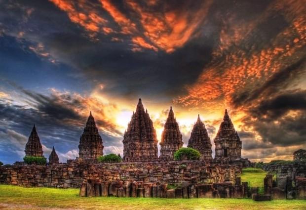 Путешествие в Индонезию: архитектурный комплекс Прамбанан