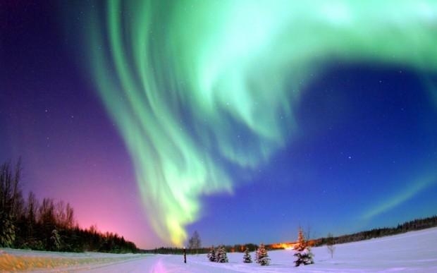 Путешествие за северным сиянием