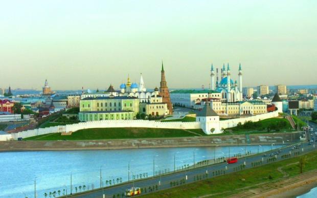 Путешествие на машине в Казань из Москвы