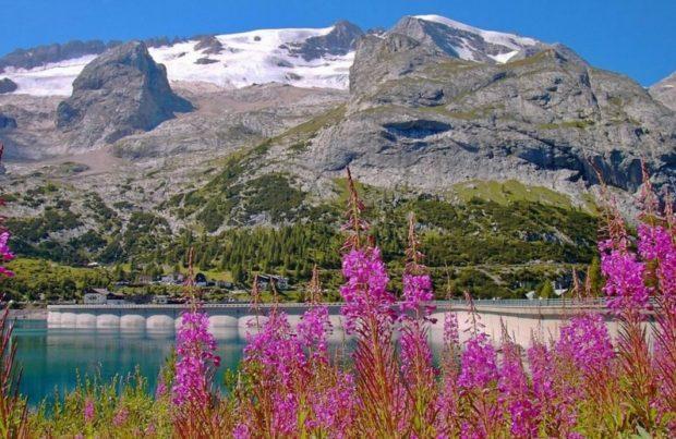 Путешествие по Европе: гора Мармолада