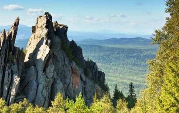 Путешествие по России, Урал: горный хребет Таганай