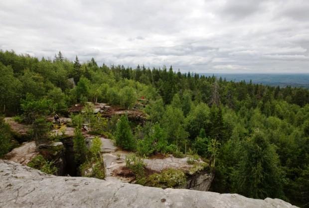 Путешествие по России: Чертово городище в Пермской области