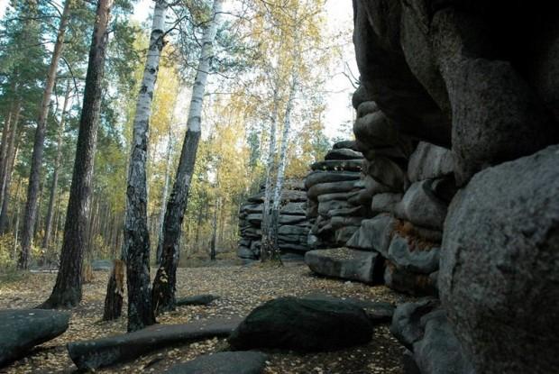 Путешествие по России: Чертово городище в Свердловской области