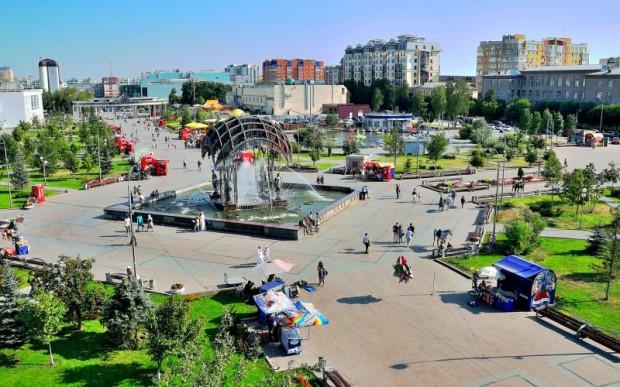 Путешествие по России: город Тюмень