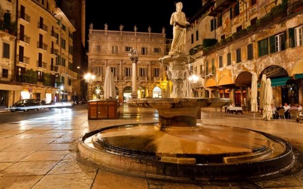 Родина Ромео и Джульетты – древний город Верона