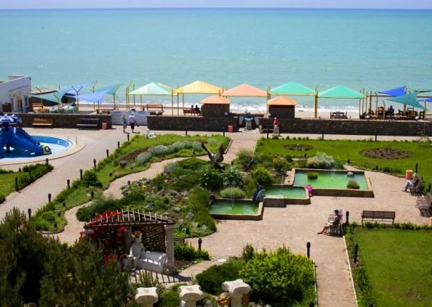 СПА отдых в Крыму или санаторий «Юрмино» в Саки