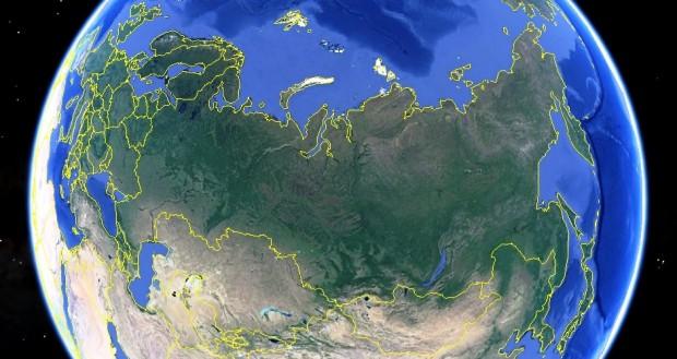Самая большая страна в мире
