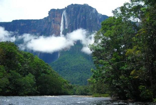 Самый большой водопад в мире