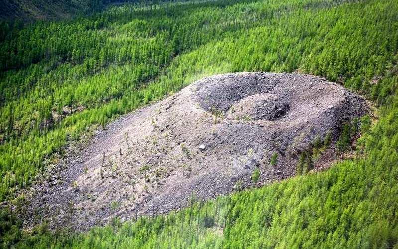 Долина Смерти (Якутия) покрылась толстым слоем вечной мерзлоты