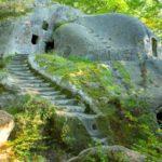 Скальный монастырь во Львовской области
