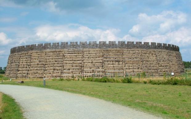 Славянская крепость Раддуш под Берлином