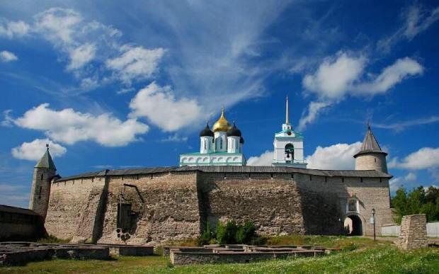 Старинный город Святой Руси Псков и его Кром