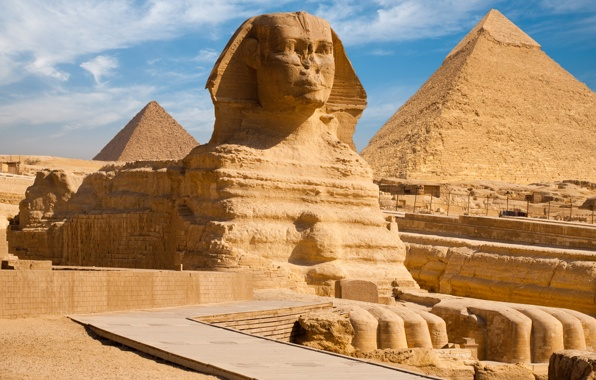 Сфинкс всему голова или с чего начинается туризм в Африке