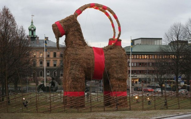 Финский Дед Мороз – Йоулупукки (Рождественский козёл)