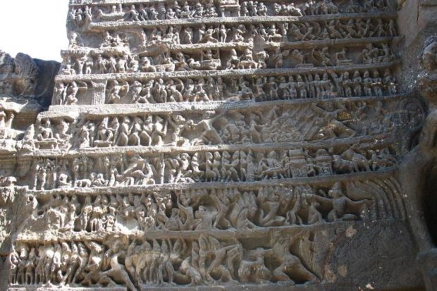 Храм Кайлаш в Эллоре