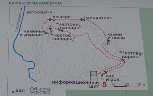Чертово городище в Калужской области