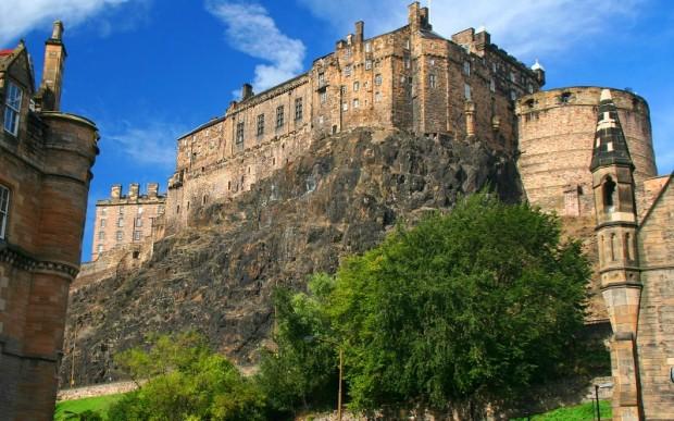 Эдинбург – горная столица Шотландии