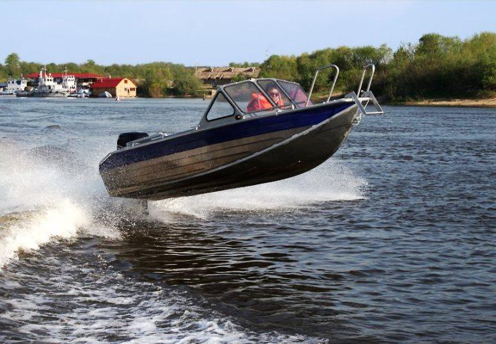 алюминиевые моторные лодки фото
