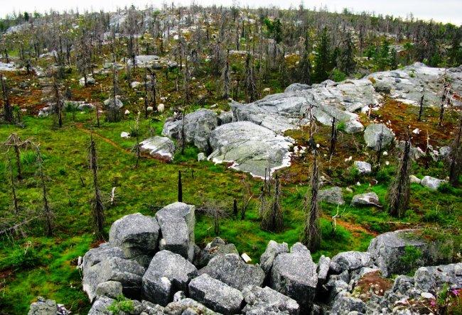 Гора Воттоваара, мегалиты Карелии, сейды