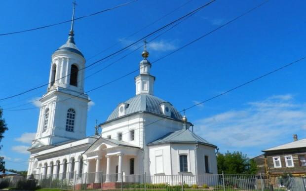 Храм Смоленской иконы Божьей Матери